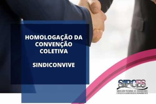 CCT Sindiconvive 2021/2023 - Homologado